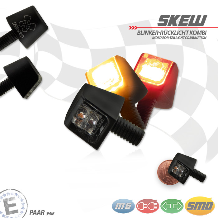 HS MOTO LED SMD BLINKRY SKREW
